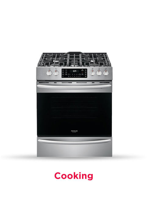 frigidaire ranges and cooktops