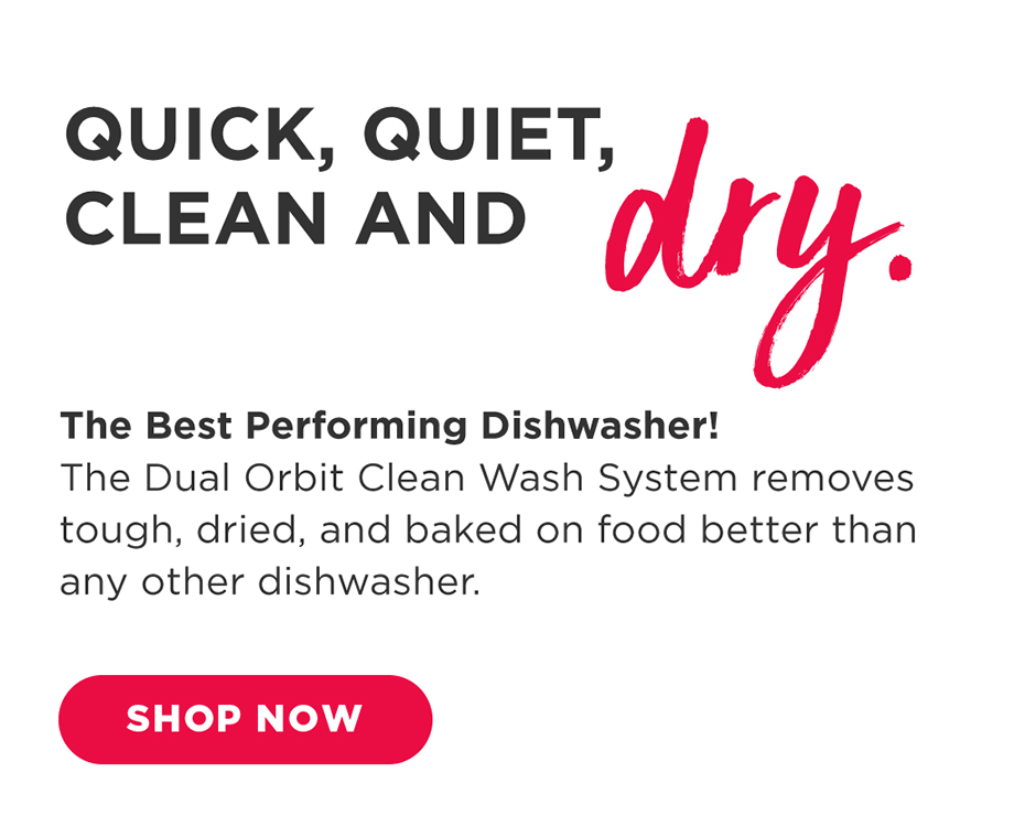 frigidaire kitchen appliances - quick, quiet, clean and dry