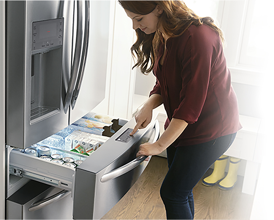 frigidaire - the only drawer that switches from fridge to freezer