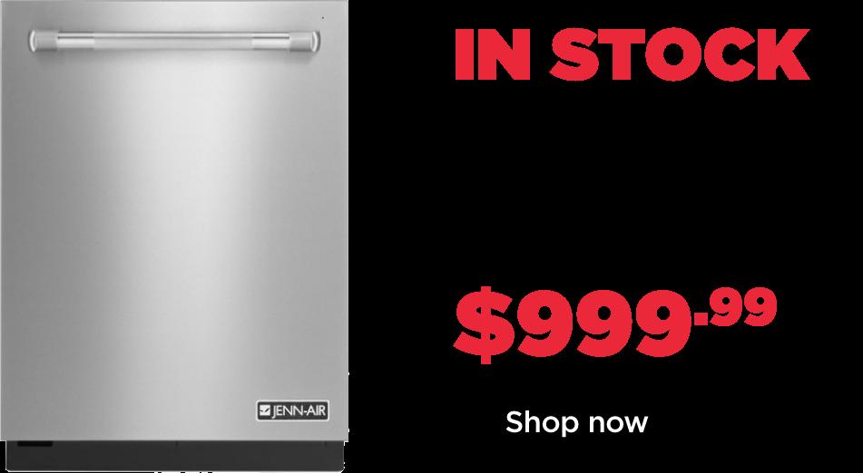 instock jennir dishwasher 999