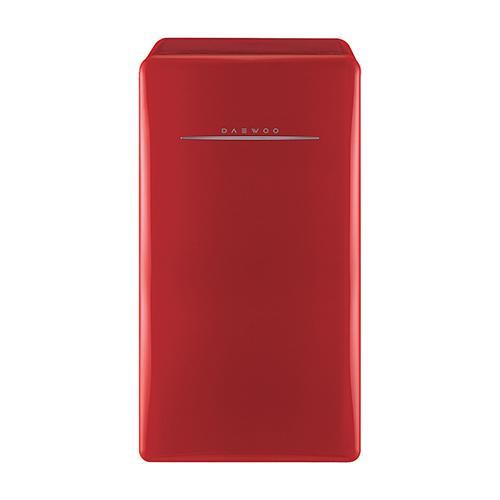 Daewoo Retro Compact Refrigerator 4.4 Cu Ft