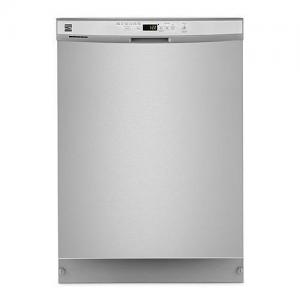 "24"" Built-In Dishwasher, Front Control, Plastic Tub"
