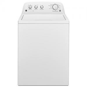 3.8 cu. ft. Top-Load Washer w/ Agitator - White