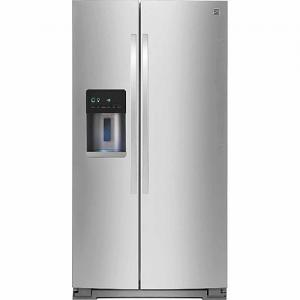 21 cu. ft. Side-by-Side Refrigerator - Stainless Steel