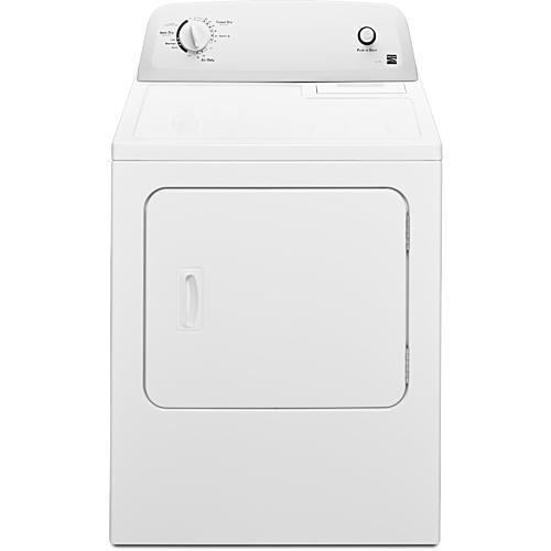 6.5 cu. ft. Electric Dryer - White