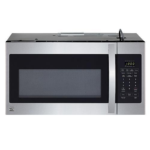 Kenmore1.6 Cu. Ft. Over-The-Range Microwave - Stainless Steel