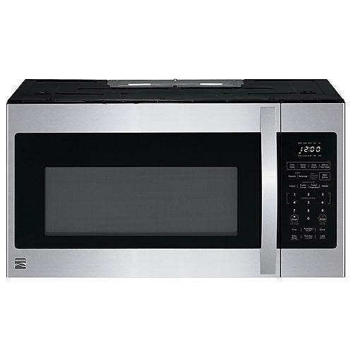 1.8 cu. ft. Over-the-Range Microwave - Stainless Steel
